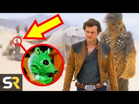 10 Hidden Details In Solo: A Star Wars Story You Totally Missed