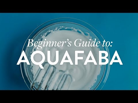 BEGINNER'S GUIDE to Aquafaba!   Minimalist Baker Recipes