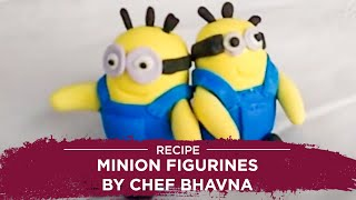 Recipe by Chef  Minion Figurines by Chef Bhavna   D Y Patil University
