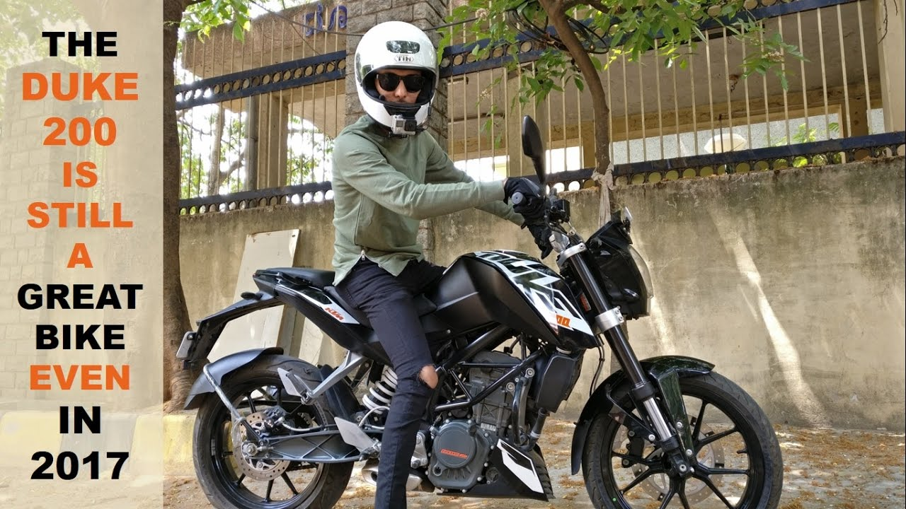 ktm duke 200 in 2017 - full ride and ownership review - youtube