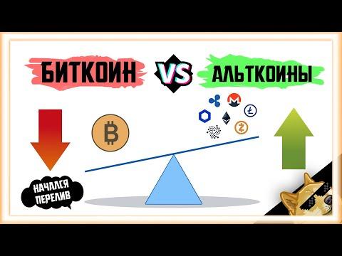 ПРИШЛО ВРЕМЯ АЛЬТКОИНОВ? | Биткоин Прогноз Крипто Новости | Bitcoin BTC  заработать 2021 ETH