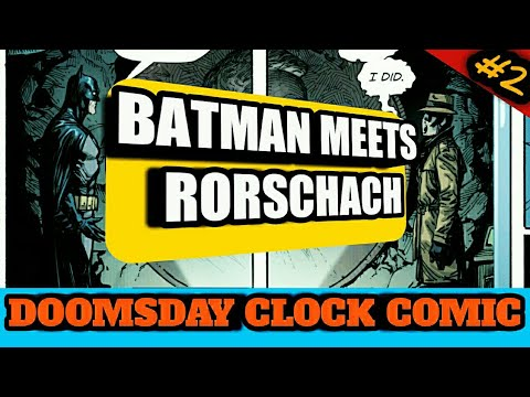 Doomsday Clock Comic Issue 2 Rorschach Meets Batman In Hindi