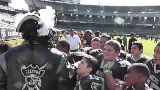 CV RAIDERS @ OAKLAND COLISEUM- MEET OAKTOWN PIRATE