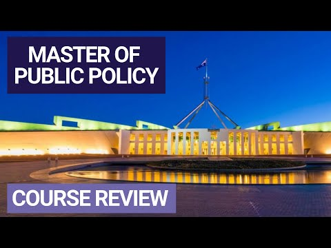 Course Overview - ANU Master of Public Policy