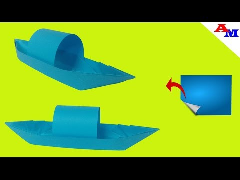 How To Make Paper Boat | how to make paper boat easy | how to make paper ship | 2019 Mp3