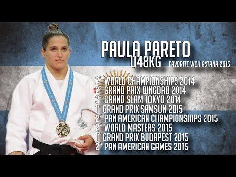 Paula Pareto Judo World Champion - Road To Rio