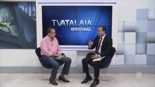 Secretário da SEPLAG Rosman Pereira - TV Atalaia Entrevista - 06/07/2017 - Bloco 1