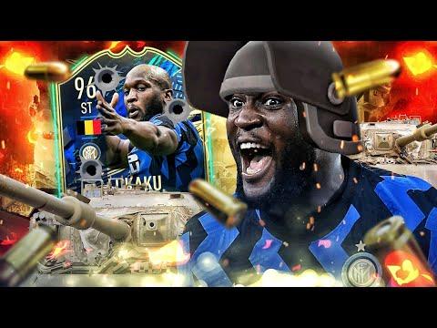 FIFA 21 : LUKAKU 96 TOTS SQUAD BUILDER BATTLE VS ELDOS !! 😱🔥
