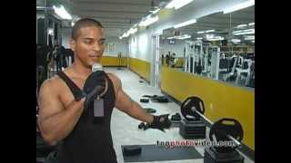 fitness bodybuilding video workout at Bally Total Fitness in NYC
