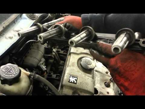 How to Change Replace ignition coil pack peugeot citroen 1.1 1.4 bbc 2.2 ndt