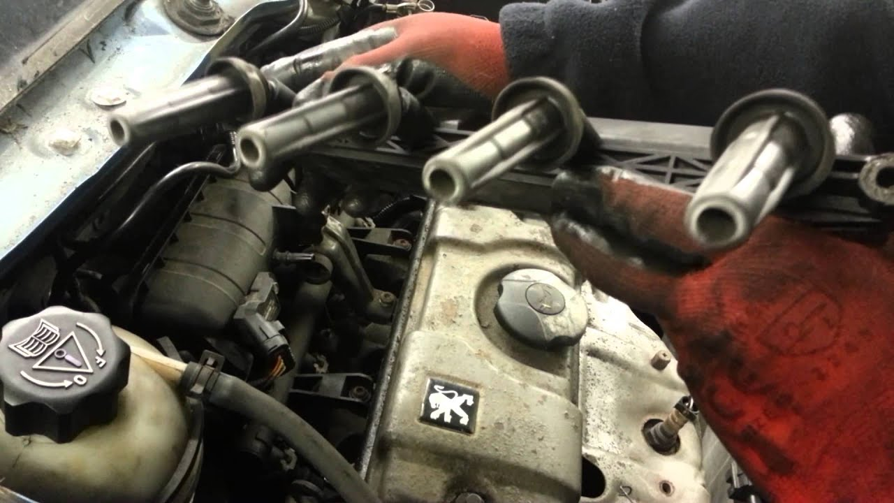 small resolution of how to change replace ignition coil pack peugeot citroen 1 1 1 4 bbc 2 2 ndt