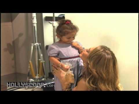 Jennifer Lopez & Twins Celebrate Gucci Children's Collection