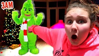 THE GRINCH BROKE INTO MY HOUSE AT 3 AM!! CHRISTMAS PRESENTS ARE MISSING