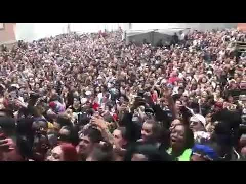 Cardi B Performing Bodak Yellow Live