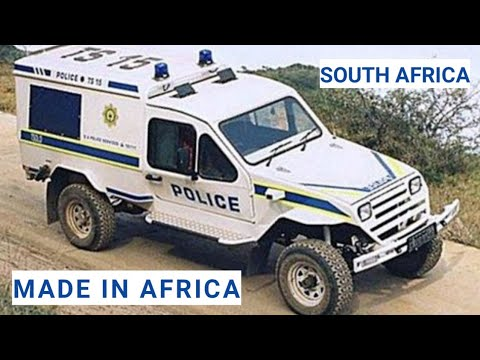 MADE IN AFRICA VEHICLES... SOUTH AFRICA...