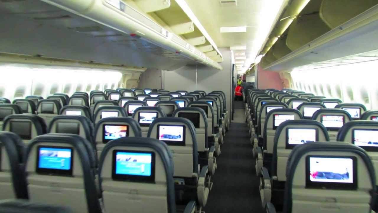 delta air lines 747 40074s cabin tour youtube