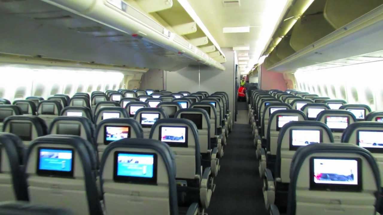 delta air lines 747 400 74s cabin tour youtube [ 1280 x 720 Pixel ]