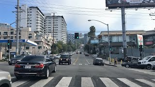 Los Angeles 4K - Hills of Los Angeles - Driving Downtown USA
