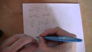 Mathematik - Folgen - Monotonie und Beschränktheit