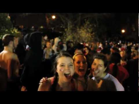 Ohio State University Mirror Lake Jump 2011 - 1080p HD