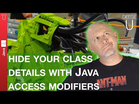Hide your class details with Java Access Modifiers - 027
