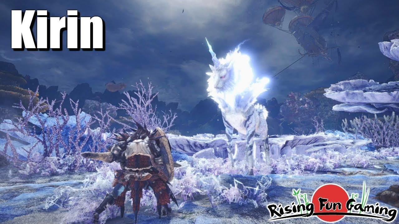 6de70f64362 Monster Hunter World  The Kirin Experience - YouTube