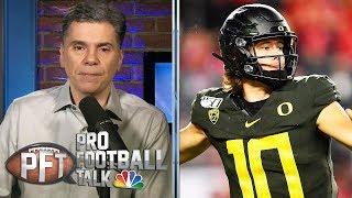 NFL Draft 2020: Why Justin Herbert gets no respect | Pro Football Talk | NBC Sports