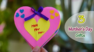 3 Mother's Day Gift Ideas || May 10th ||   Homemade Gifts ideas for Mother's day
