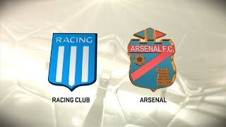 Racing Club vs Arsenal S. full match
