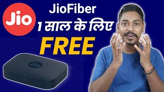 Jio Fiber 1 Year FREE - How to Get Jio Fiber One Year Free Connection Along With 30 Days Free Trial