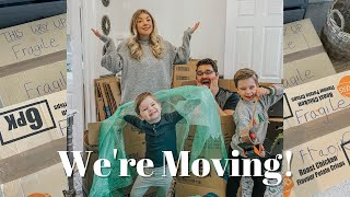 WE'RE MOVING! | HUGE LIFE UPDATE | KATE MURNANE