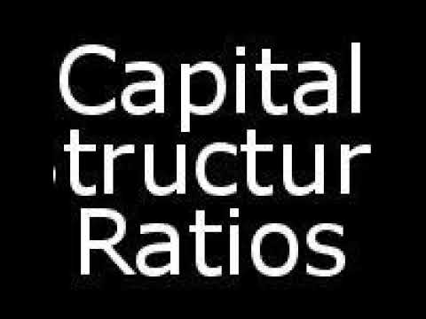 Capital Structure Ratios