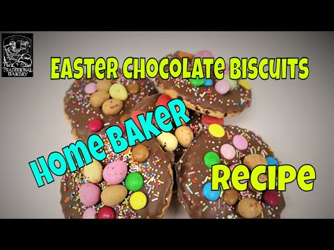 Chocolate Easter Biscuits How To Recipe Demonstration At Bakery