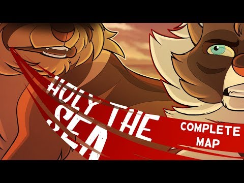 HOLY THE SEA【Brambleclaw & Hawkfrost   COMPLETE MAP】