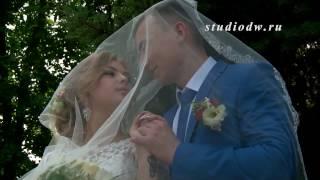 Свадебный клип Владислава и Юлии, свадебный видеооператор в Ногинске, прогулка на фонтанах.