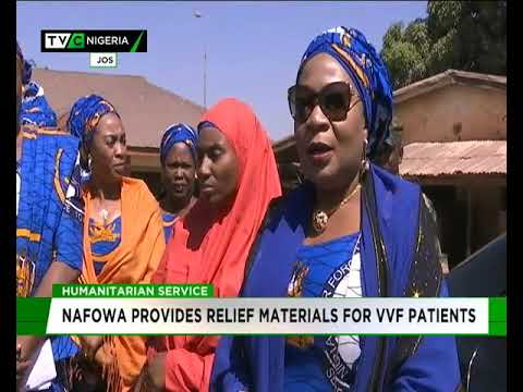 NAFOWA provides relief materials for VVF patients