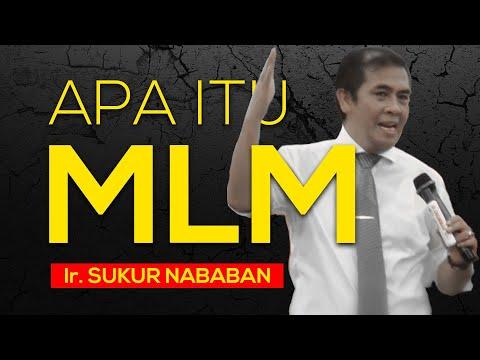 (PART 01) Konsep Dasar Bisnis Multilevel Marketing (MLM) yang sebenarnya oleh Ir. Sukur Nababan