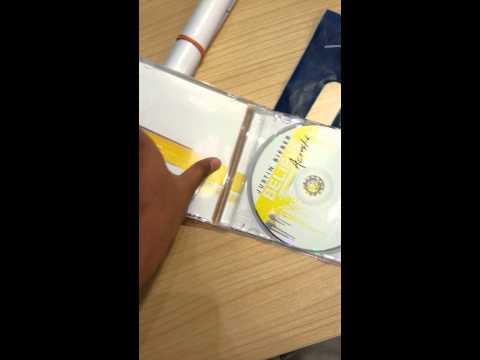 Unboxing- Justin Bieber Believe Acoustic Album