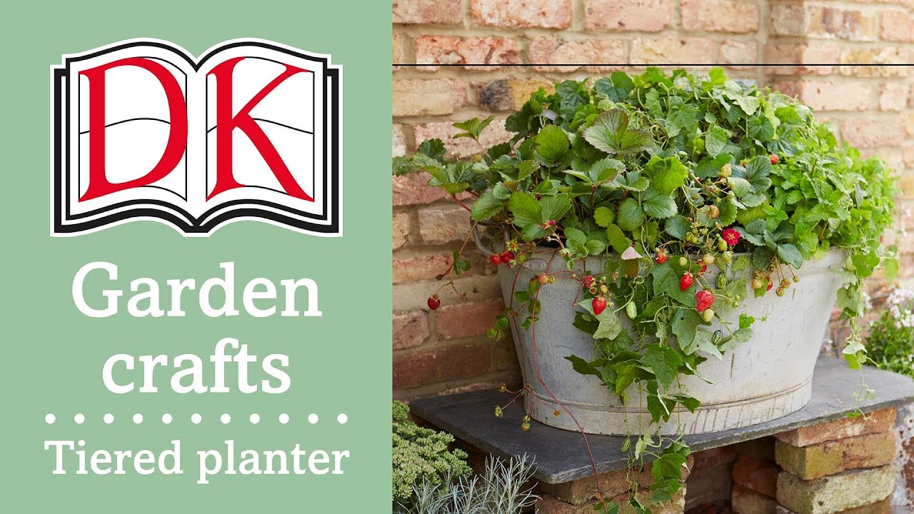 Garden Ideas: Tiered Planter   YouTube