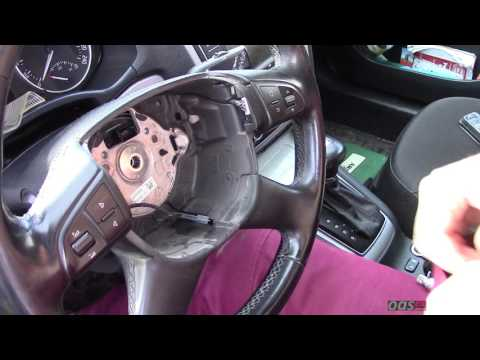 Как снять руль на шкода октавия а5