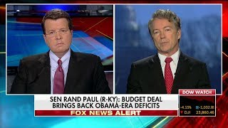 Paul on Holding Up 'Rotten' Budget Deal: 'We're Going to Bring Back Obama-Era Deficits'