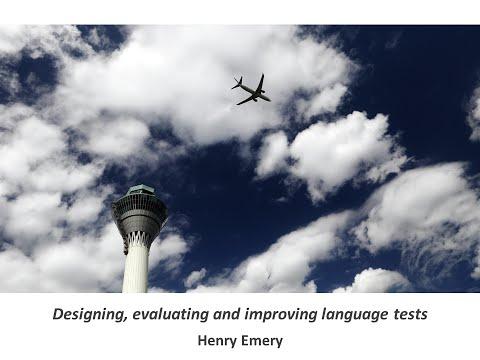 Designing, evaluating and improving language proficiency tests