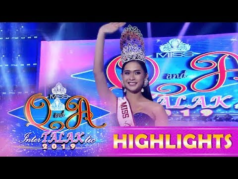 It's Showtime Miss Q & A: Jane Ivanie Gonzales successfully defends the crown