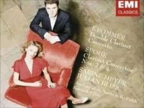 Sabine Meyer/Julian Bliss- Krommer Concerto for Two Clarinets in Eb Op. 91: I- Allegro