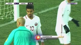 هدف أكرم عفيف  | عمان 0 - 1 قطر |  كأس آسيا تحت 23 سنة