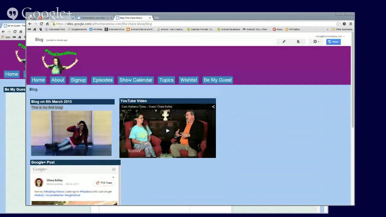 Tutorial Edit And Maintain Google Sites Website