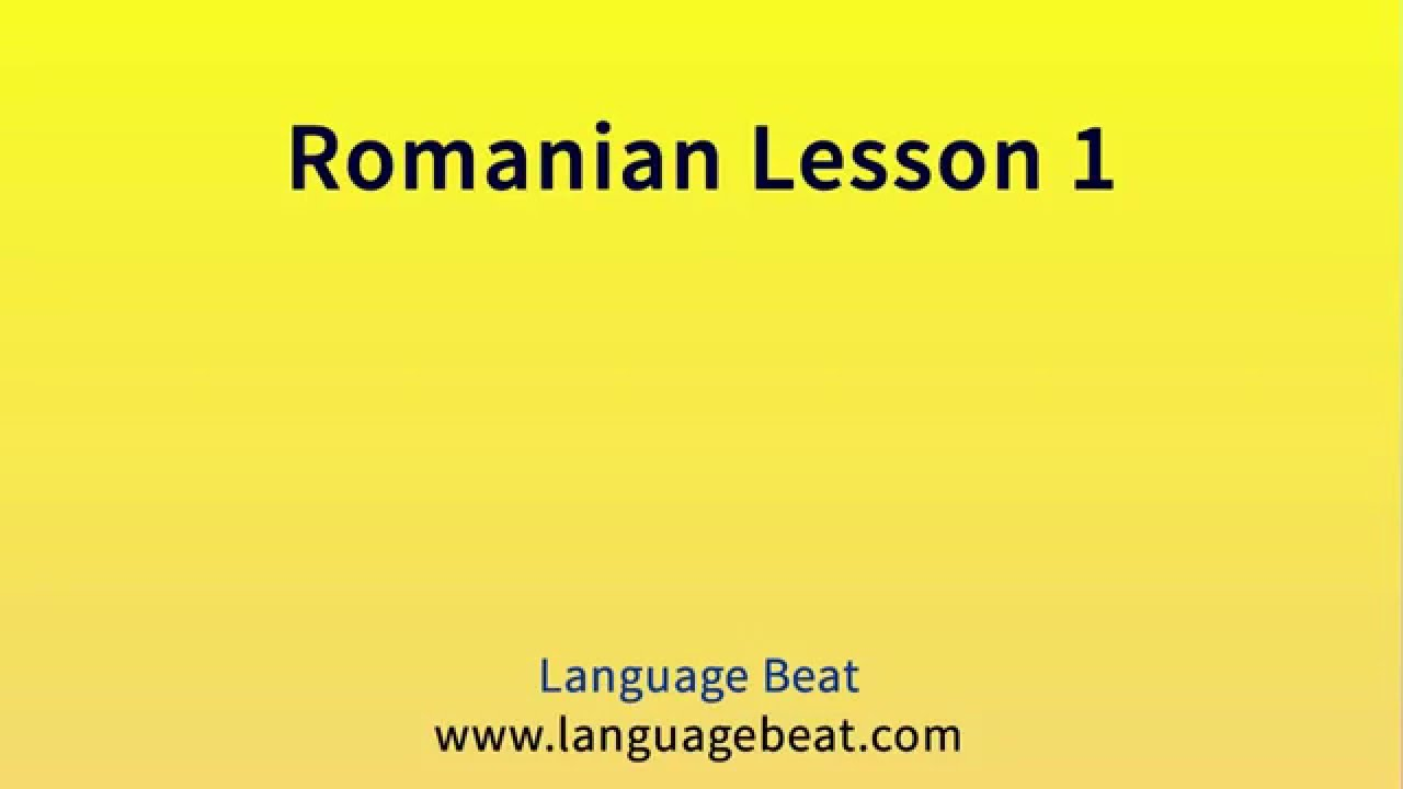 how to learn romanian language