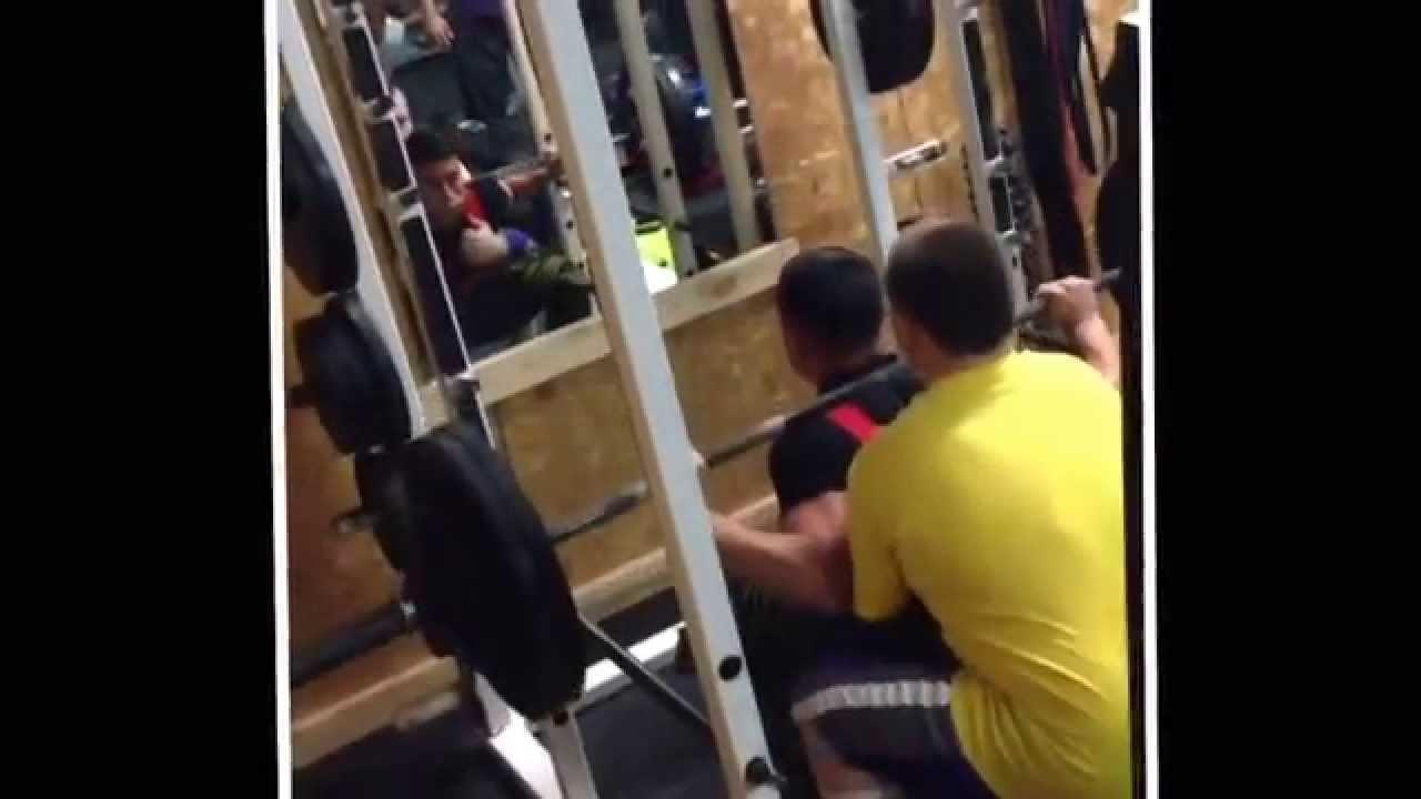 c756d16d3f43 Powerlifting Motivation Raw Iron Gym Mt. Pleasant TX - YouTube
