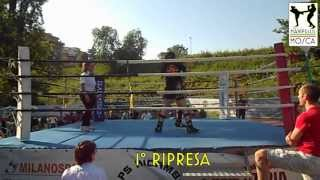 15 Giugno 2013. Rosmunda Avagliano vs Marisa Pasquaroli. Kick Boxing Light
