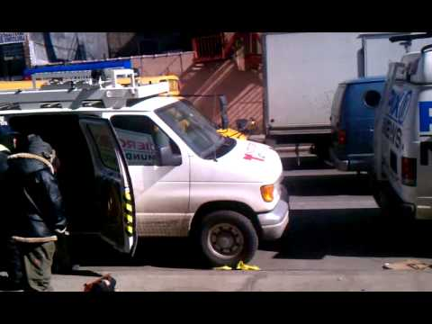 Pt 3 of 6 nyc explosion harlem news vans 2014